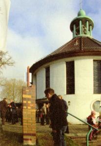 Kirche Reinbek Spendensäule